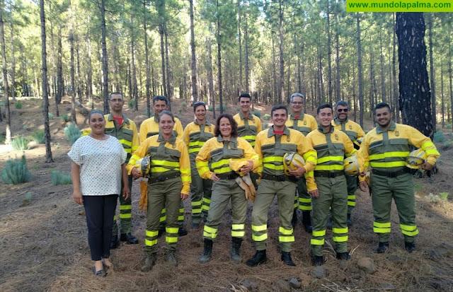 El Ayuntamiento de Tijarafe forma y equipa a su grupo de voluntarios contra incendios