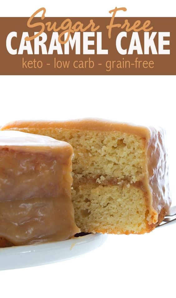 CARAMEL CAKE – KETO LOW CARB RECIPE