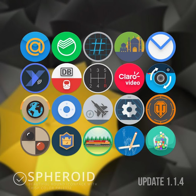 Spheroid Icon APK Free Download