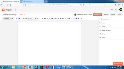 Cara Membuat Blog mudah
