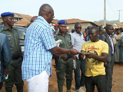 Fayose pays N200m compensation to property owners in Ado-Ekiti