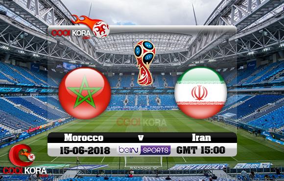 مشاهدة مباراة المغرب وإيران اليوم 15-6-2018 بي أن ماكس كأس العالم 2018