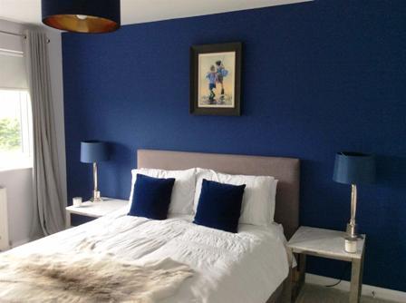Warna cat Tenang - Biru