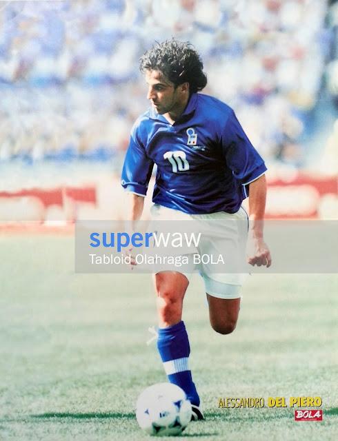 Poster Alessandro Del Piero Italia 1998