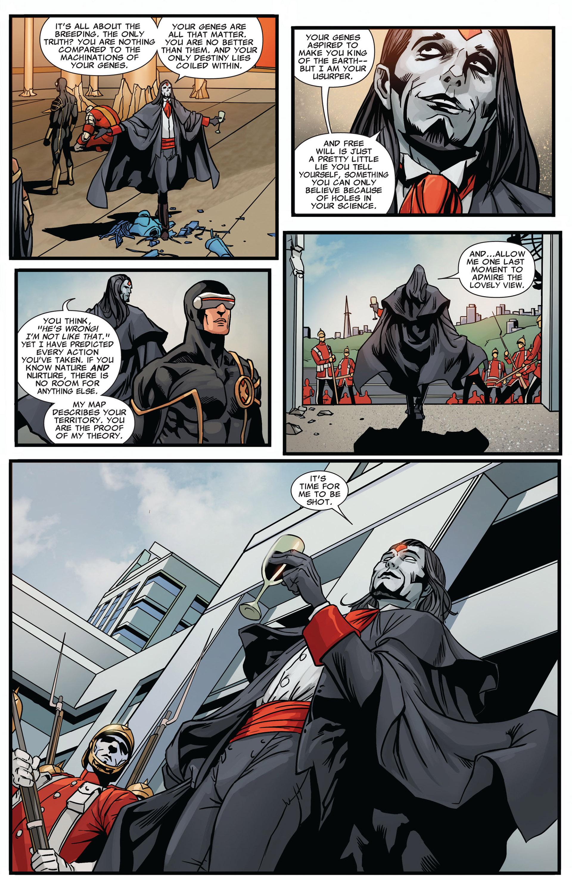 Read online Uncanny X-Men (2012) comic -  Issue #2 - 18