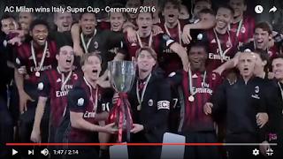 Supercoppa Juventus Milan 4-5 highlights video