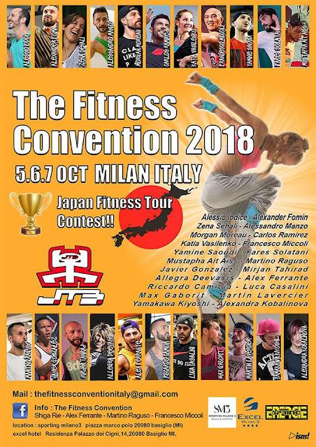 The Fitness Convention 2018, dal 5 al 7 ottobre a Milano