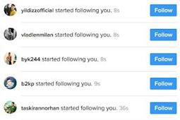 Cara Mendapatkan Followers Instagram Dengan Web Turki Gratis