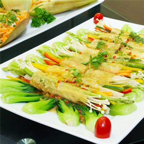 Xu hướng tiệc cưới với các món ăn chay