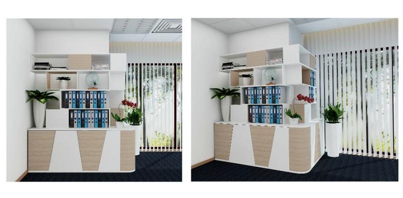 Tủ tài liệu cao cấp cho thiết kế nội thất văn phòng làm việc