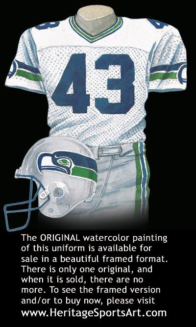 Seahawks Uniform History 75