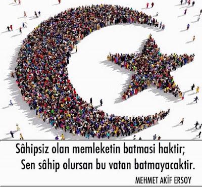ayyıldız, ayyıldızlı al bayrak, bayrak, türk bayrağı, insan bayrak, osmanlı, vatan, mehmet akif ersoy, güzel sözler, anlamlı sözler, özlü sözler