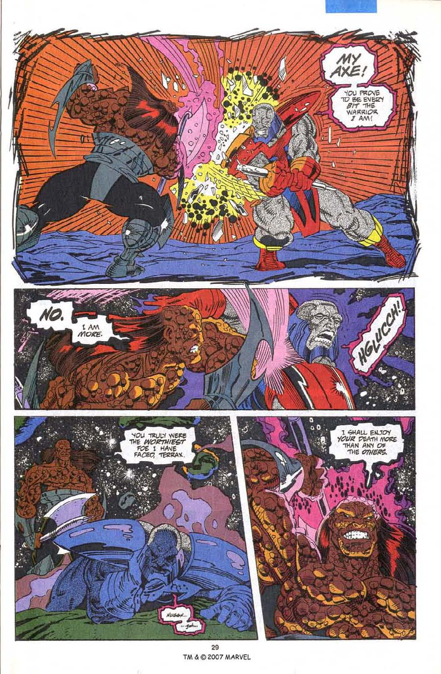 Read online Silver Surfer (1987) comic -  Issue #75 - 31
