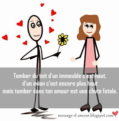 message d'amour avec humour