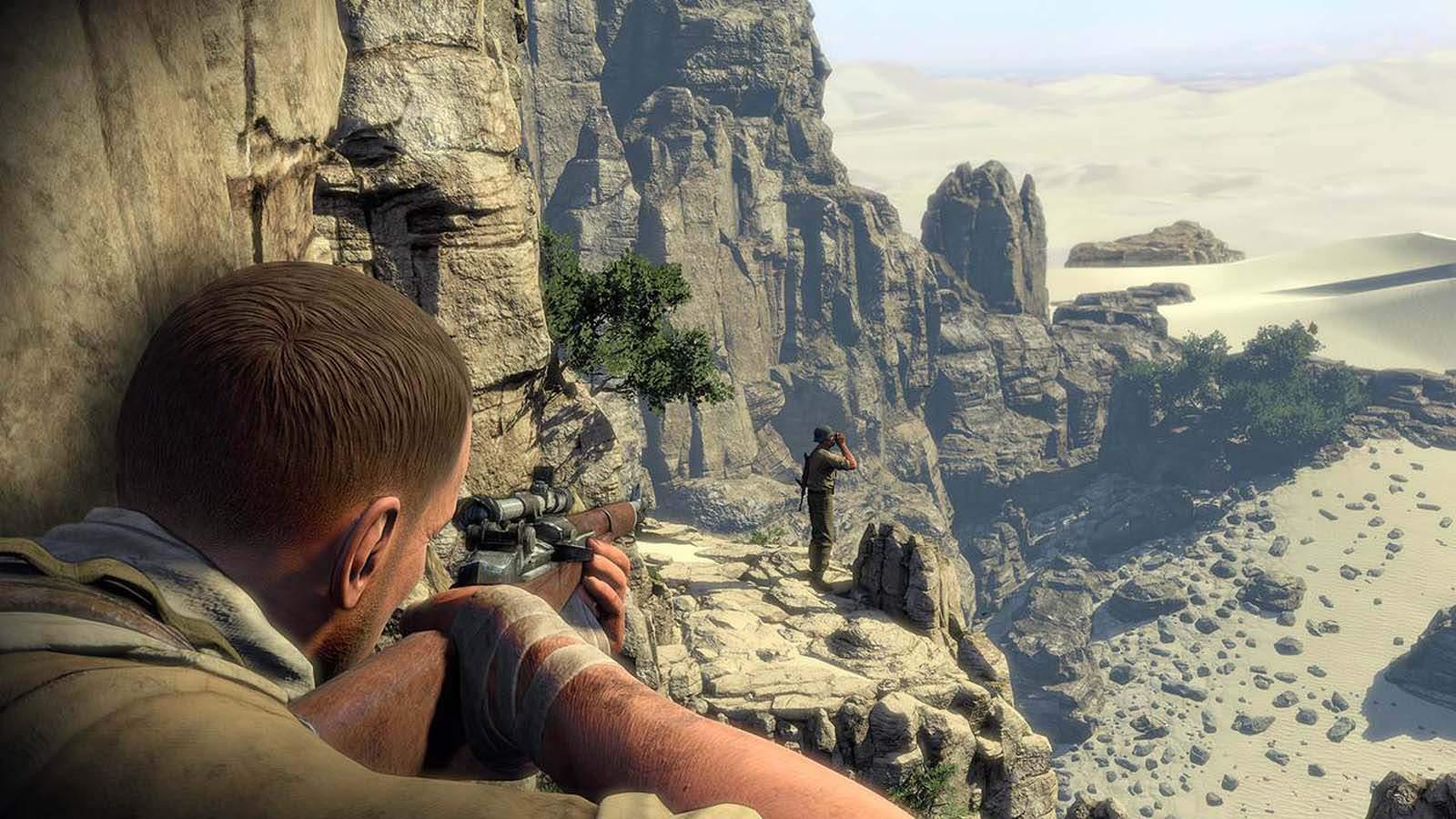 تحميل لعبة Sniper Elite 3 مضغوطة برابط واحد مباشر + تورنت كاملة مجانا