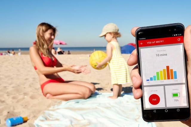 Vodafone mejora el 4G en 600 playas y 1.000 municipios de España.