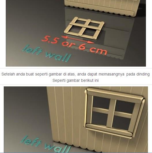 Cara Membuat Rumah Dari Stik Es Krim Bekas dengan Mudah - Dunia HQ
