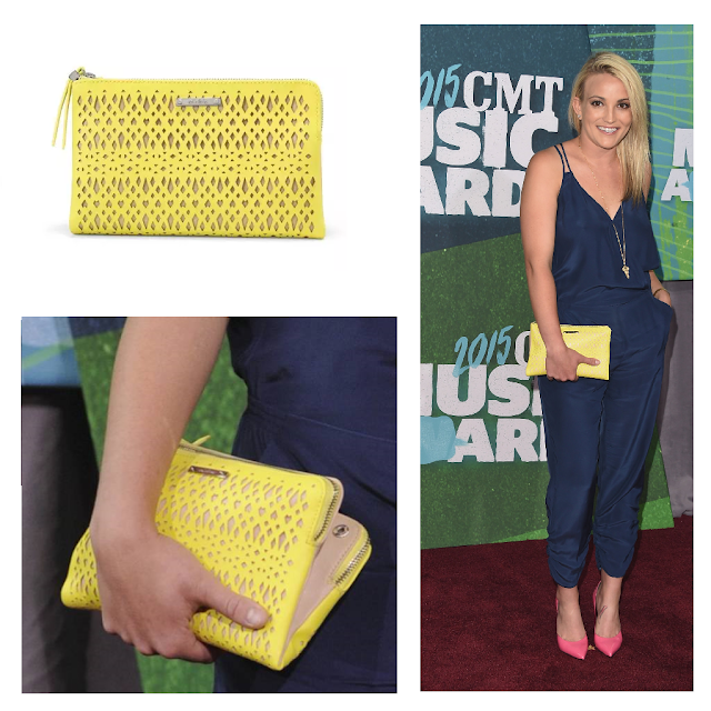 Stella & Dot Citrine Double Clutch - as seen on Jamie Lynn Spears