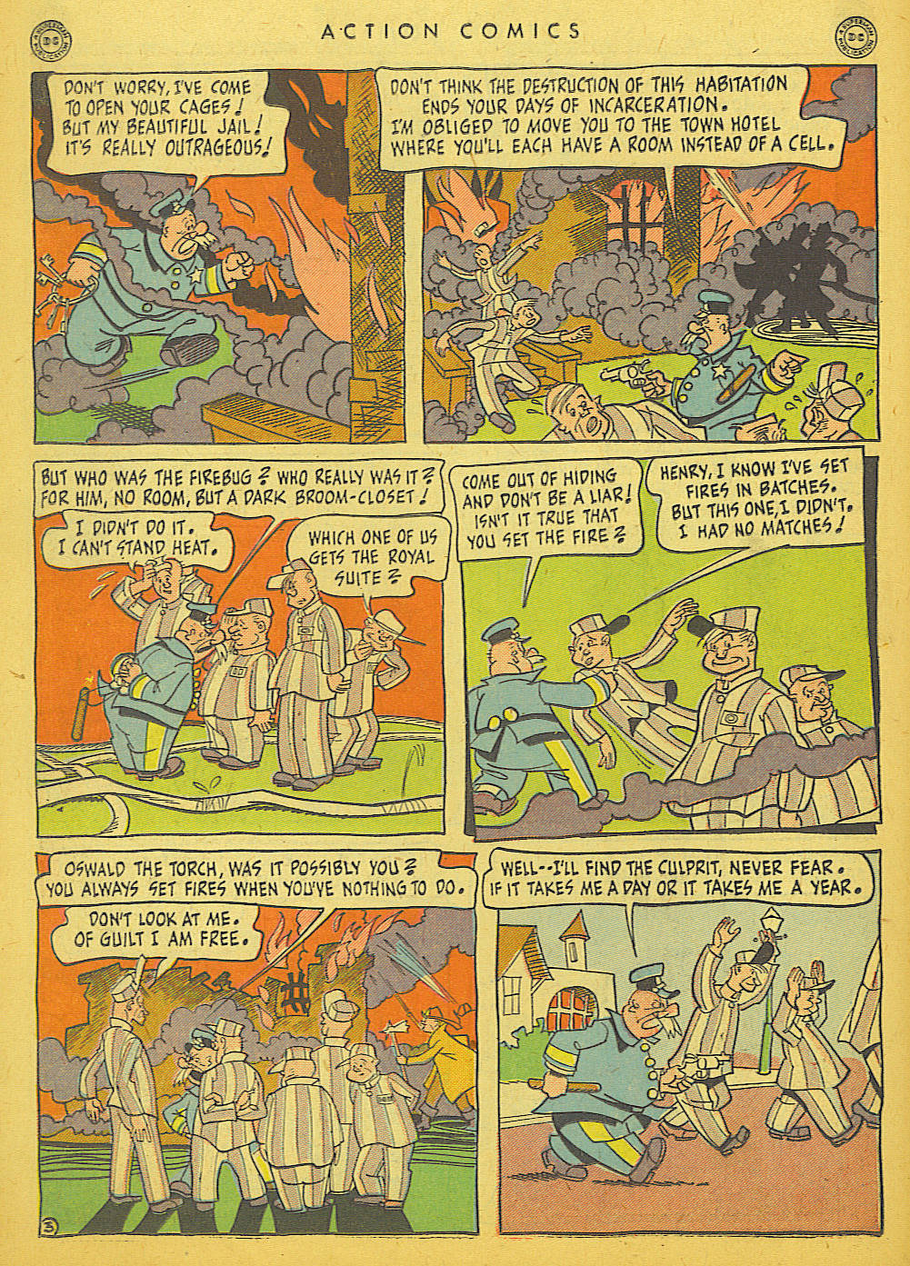 Read online Action Comics (1938) comic -  Issue #86 - 38
