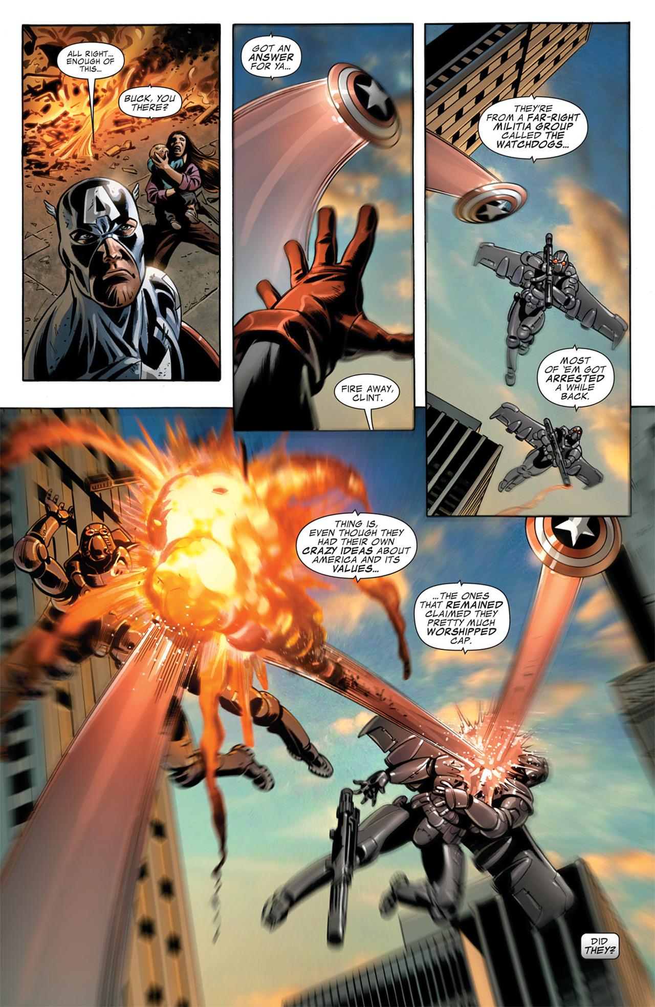 Read online Captain America (2005) comic -  Issue #50 - 15