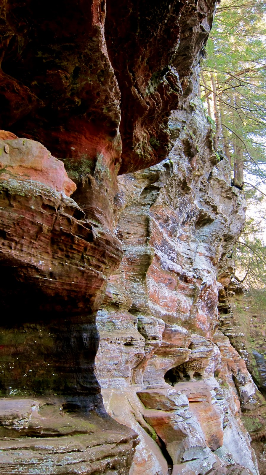 Stumbles Off the Map Hocking Hills State Park and State