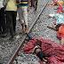 தண்டவாளத்தை கடக்க முயன்ற பக்தர்கள் ரயில் மோதுண்டத்தில் குழந்தை உட்பட 6 பேர் பலி