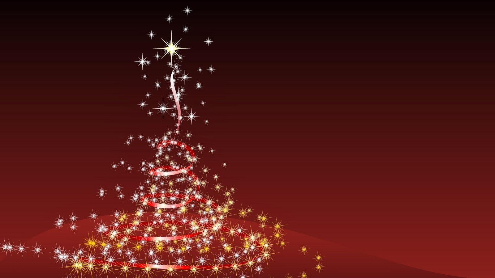 Fondo De Pantalla Navidad Arbol Blanco Iluminado