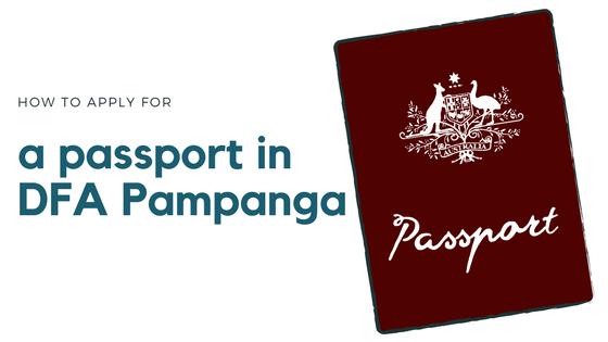 New Passport Application In Dfa Pampanga