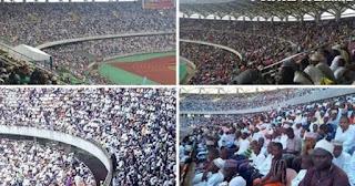 Masya Allah! Viral Video Stadion Dipenuhi Penonton Tapi Bukan Pertandingan Bola, Melainkan Kompetisi Baca Al-Quran di Tanzania