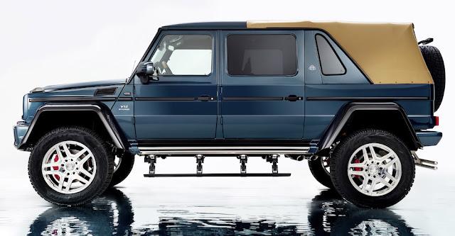 マイバッハから超高級SUVのオープンカー「メルセデス・マイバッハG650ランドレー」が登場!世界限定99台で発売へ。