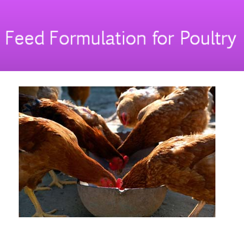 poultry feed formula guide