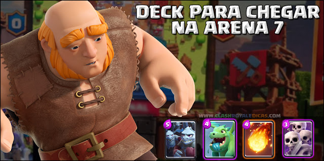 Deck para Arena 6 Clash Royale