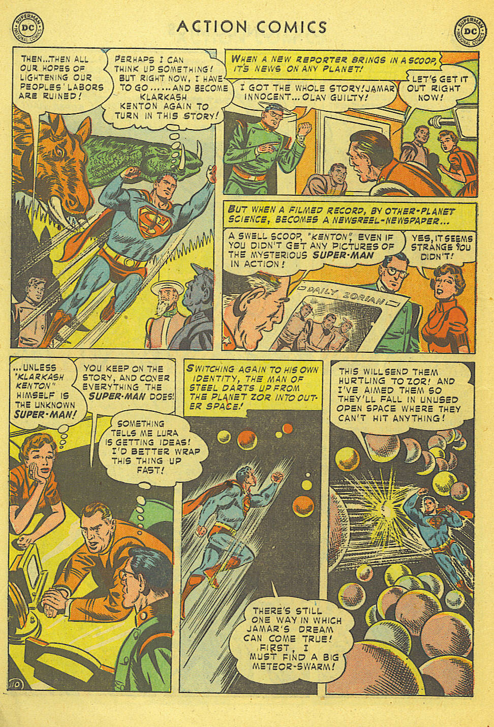 Read online Action Comics (1938) comic -  Issue #168 - 11