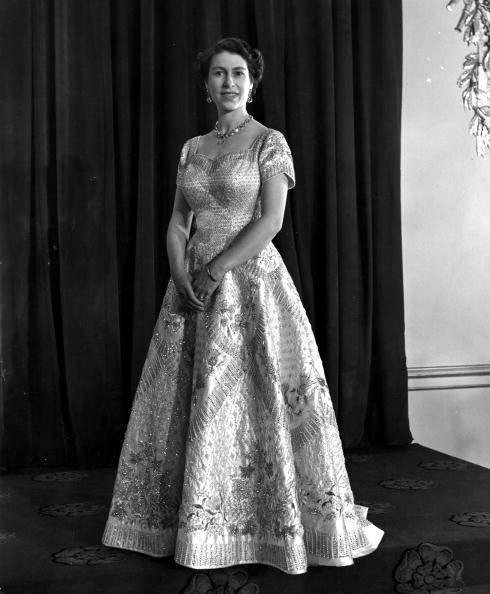 The Royal Order of Sartorial Splendor: Flashback Friday ...Queen Elizabeth Coronation Dress