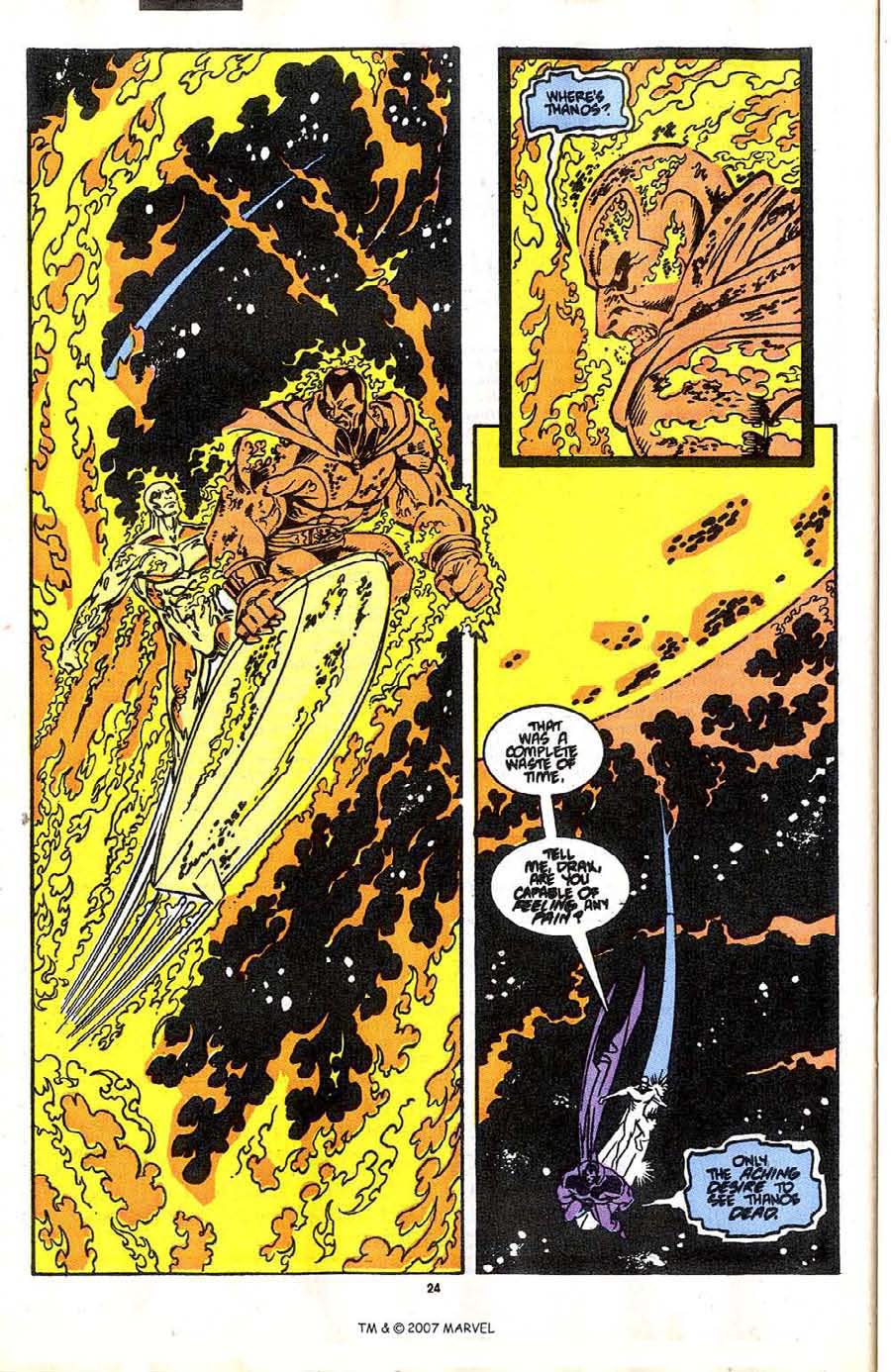 Read online Silver Surfer (1987) comic -  Issue #37 - 26