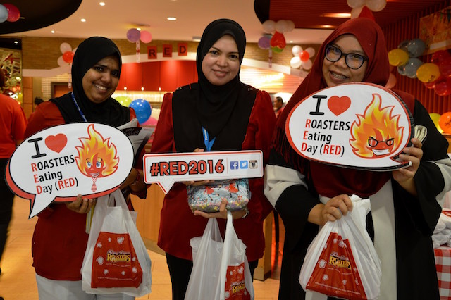 Kenny Rogers Roasters Eating Day (RED) 2
