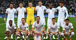 Daftar Pemain Timnas Inggris