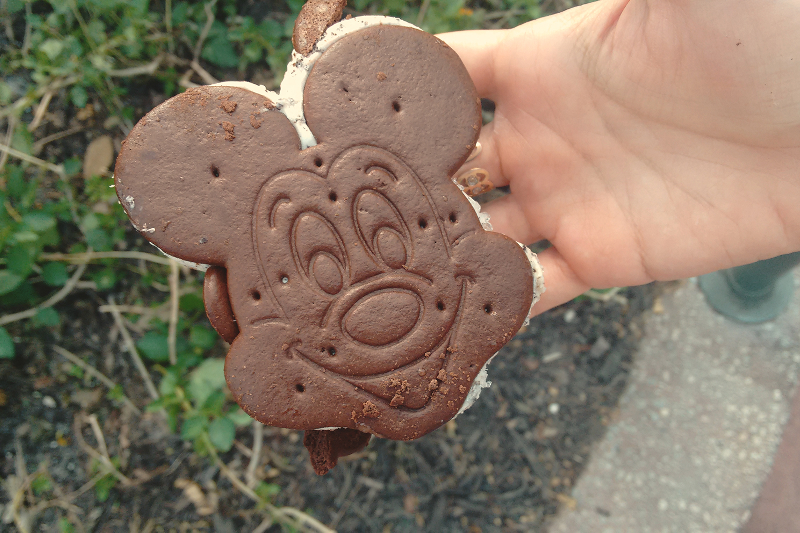 biscoito e sorvete mickey disney
