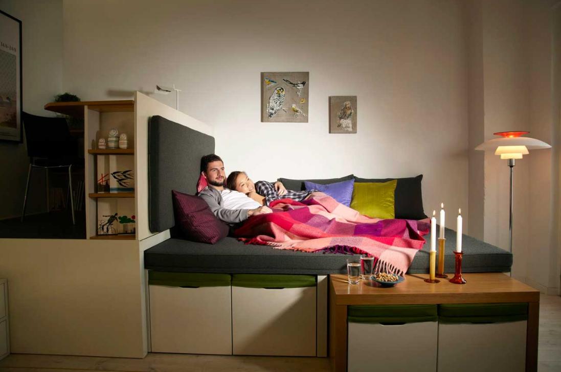 17 Best Space Saving Furniture Ideas For Small Apartments: Designcardamom: Piccoli Spazi: No Problem