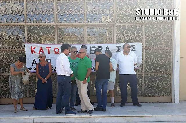 Η αστυνομία προσήγαγε τον Δημοτικό σύμβουλο Ναυπλιέων Παντελή Κοκκινόπουλο (βίντεο)