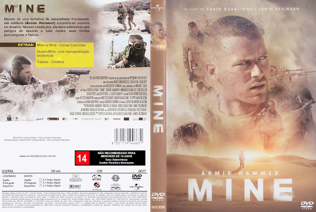 Capa DVD Mine [Exclusiva]
