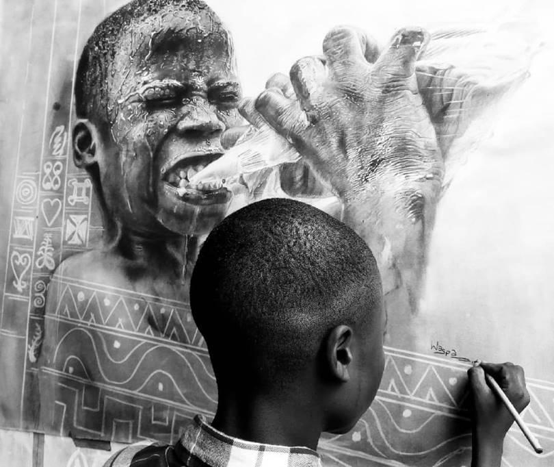 kareem olamilekan artist, kareem waris olamilekan, 11 year old artist, waris kareem, kareem waris, waris kareem art, waris kareem artist, waris kareem drawings, 11 year old drawings, olamilekan,