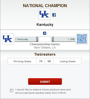 Tournament Challenge - ESPN - Error