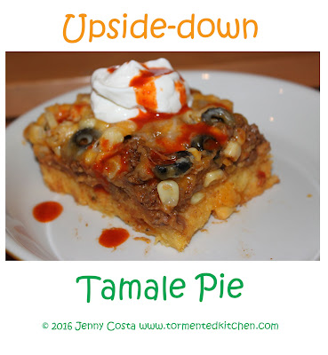 upside down tamale pie