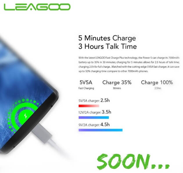 Leagoo Power 5 with 7000mAh Battery Coming to Philippines