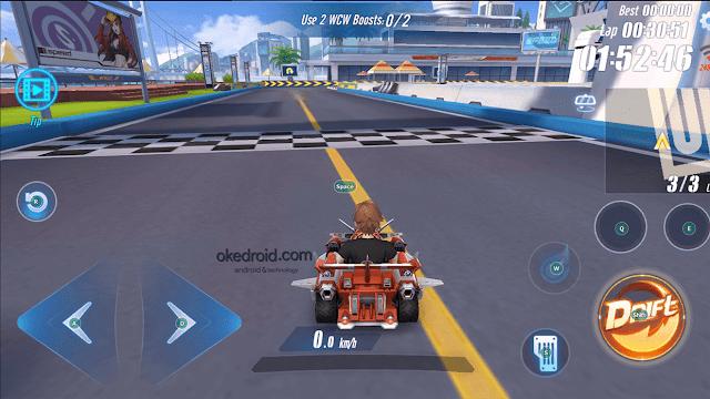 Garena Speed Drifters di Memu Emulator