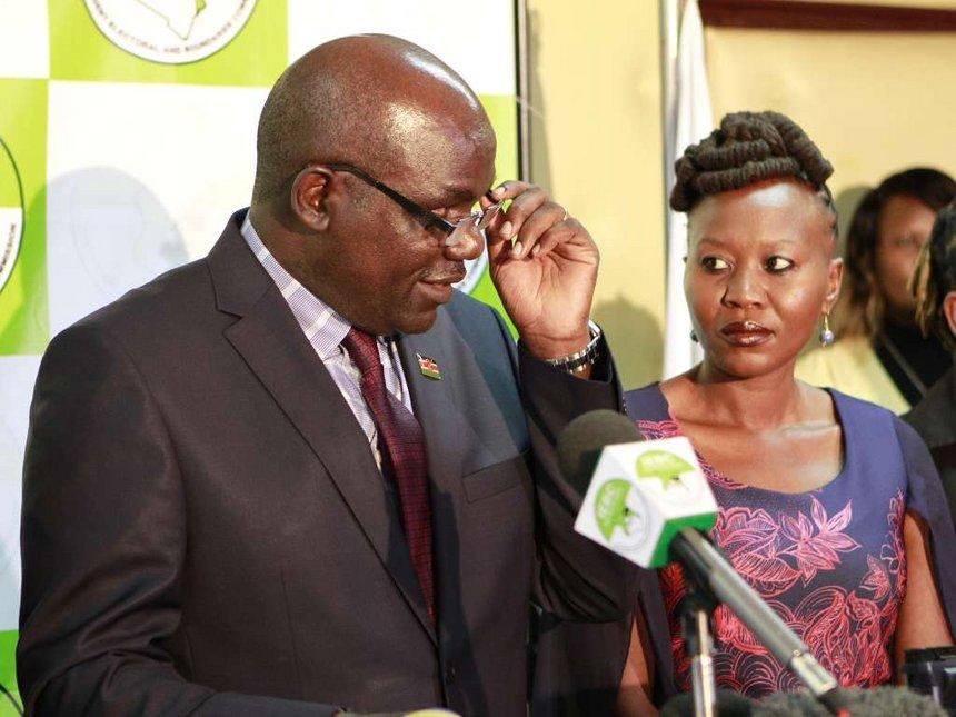 Wafula Chebukati James Muhati
