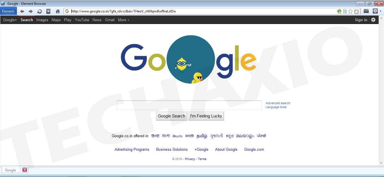 Element Browser Screenshot