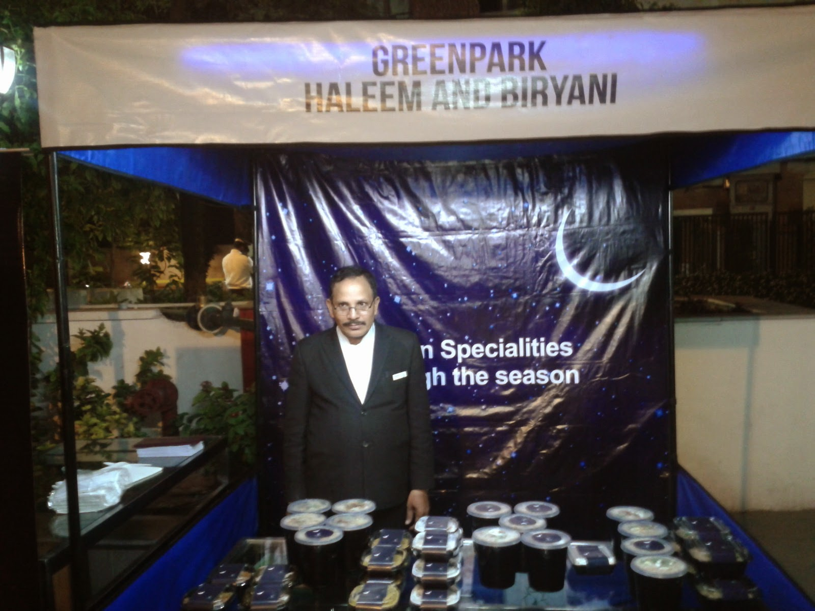 Haleem Counter at Green Park