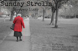 Sunday Stroll Giveaway Linky